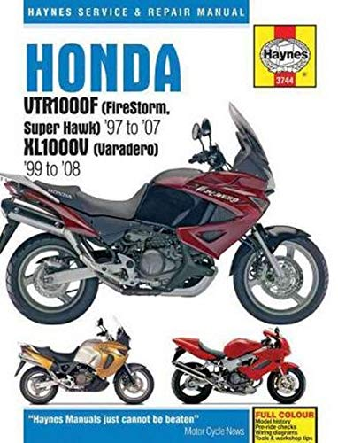 9781785210129: Honda VTR1000F (FireStorm, Super Hawk) '97 to '07 KL1000V (Varadero) '99 to'08 (Haynes Service & Repair Manual)