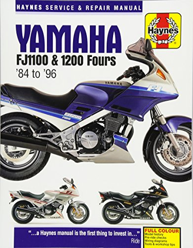 Yamaha FJ1100 & 1200 Fours Motorcycle Repair Manual: 84-96: Anon