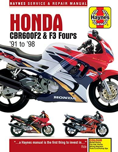 Honda Cbr600f2 & F3 Fours Motorcycle Repair Manual