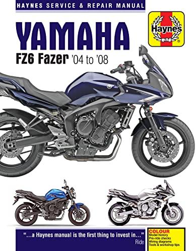 9781785210426: Yamaha FZ6 Fazer '04 to '08 (Haynes Service & Repair Manual)