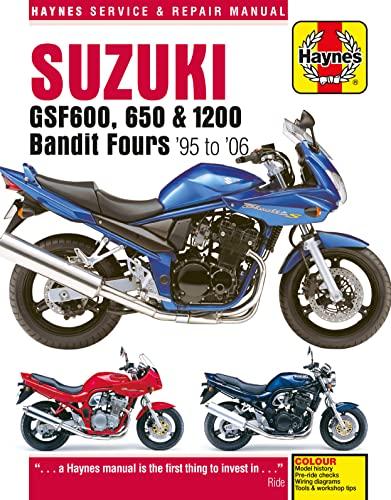 Suzuki Gsf600, 650 & 1200 Bandit Fours Motorcycle Repair Manual: 95-06: Anon