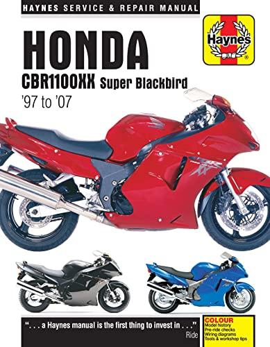Honda CBR1100XX Super Blackbird Motorcycle Repair Manual: Anon