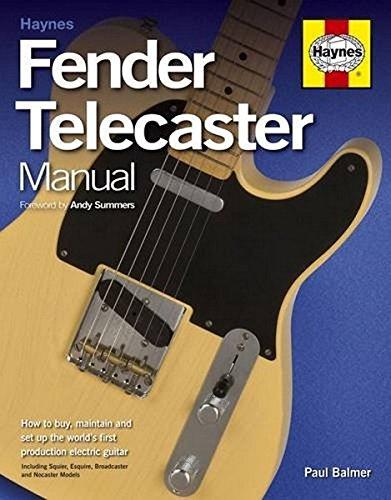 9781785210563: Fender Telecaster Manual Paperback