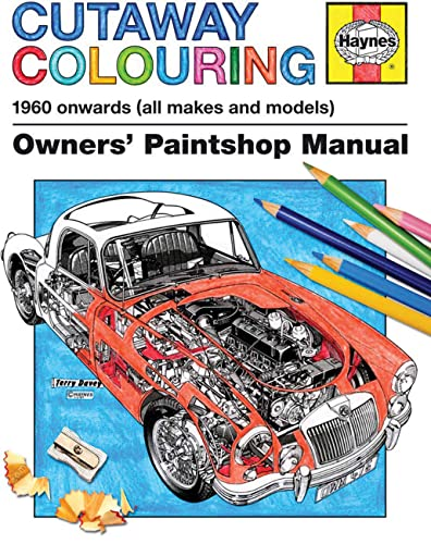 9781785210693: Cutaway Colouring 1960 onwards (all makes and models)
