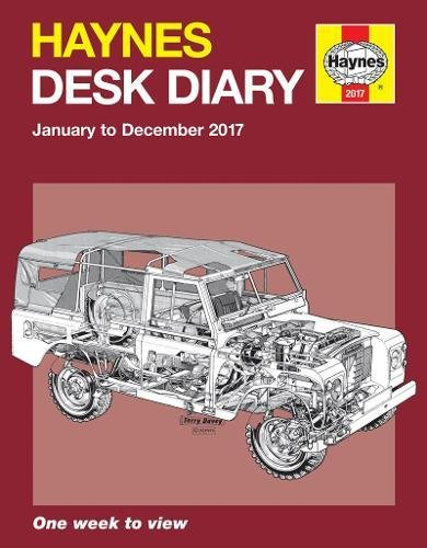 9781785210952: Haynes Desk Diary January to December 2017: One week to view