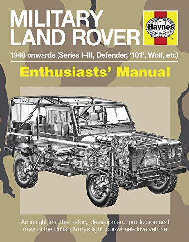Military Land Rover 1948 Onwards (Series I-III, Defender, '101', Wolf, etc): An insight ...