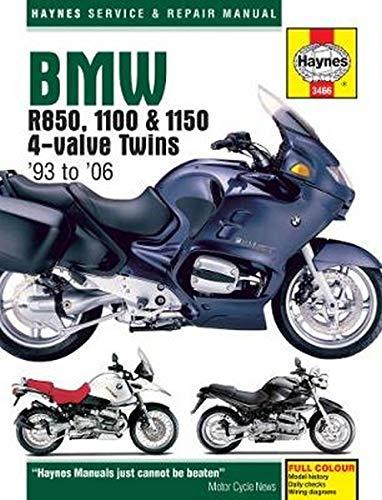 BMW R850, 1100, & 1150 Service and Repair Manual
