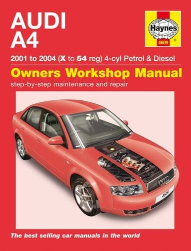 9781785212901: Audi A4 Service and Repair Manual: 01-04