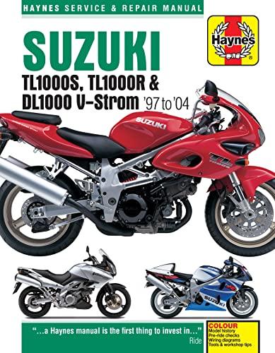 9781785213120: Suzuki TL1000S, TL1000R & DL1000 V-Strom '97 to '04 (Haynes Service & Repair Manual)
