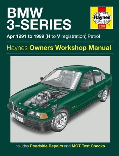 BMW 3-Series Service and Repair Manual: Anon