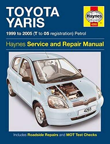 Toyota Yaris Owners Workshop Manual: Anon