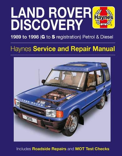 Uk on Haynes Land Rover Discovery Manual