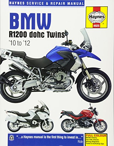 9781785213472: BMW R1200 dohc Twins: '10 to '12 (Haynes Service & Repair Manual)