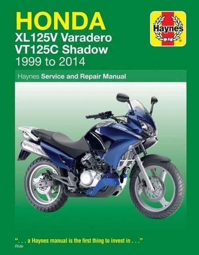 9781785213632: Honda XL125V & VT125C (99 - 14) Haynes Repair Manual