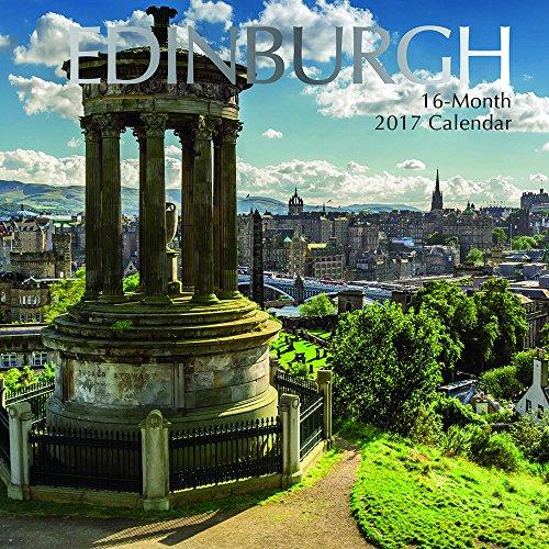 9781785246012: Beautiful Scenic Images of Edinburgh Scotland 2017 Monthly Wall Calendar, 12