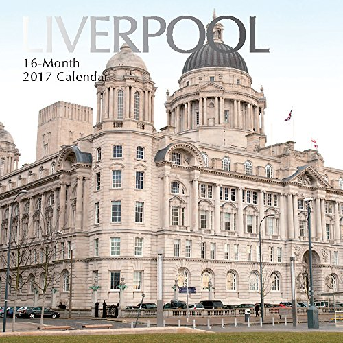 """9781785246173: Beautiful Scenic Landscapes & Landmarks of Liverpool England 2017 Monthly Wall Calendar, 12"""" x 12"""""""
