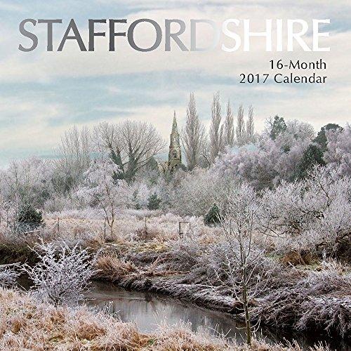 9781785246425: Staffordshire 2017 Wall Calendar (Square Wall)