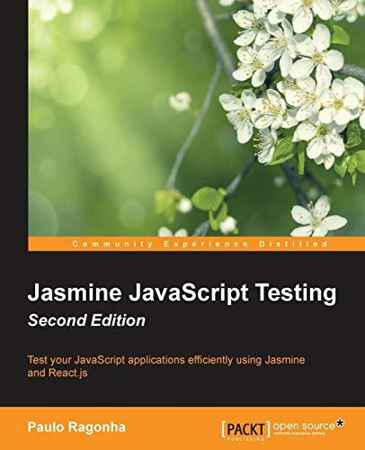 9781785282041: Jasmine JavaScript Testing  Second Edition