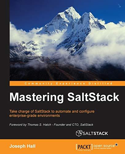 9781785282164: Mastering SaltStack