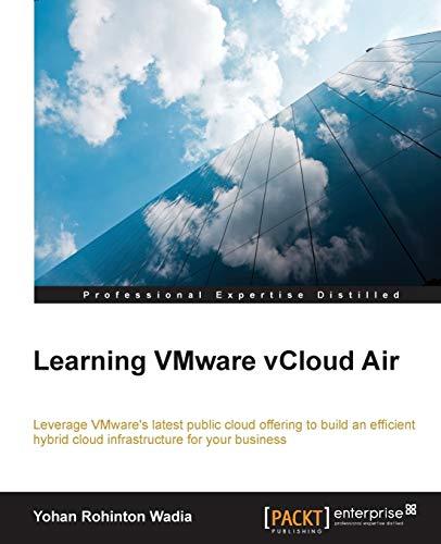 Learning VMware vCloud Air: Yohan Rohinton Wadia