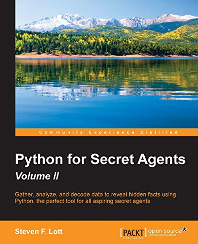 9781785283406: Python for Secret Agents - Second Edition