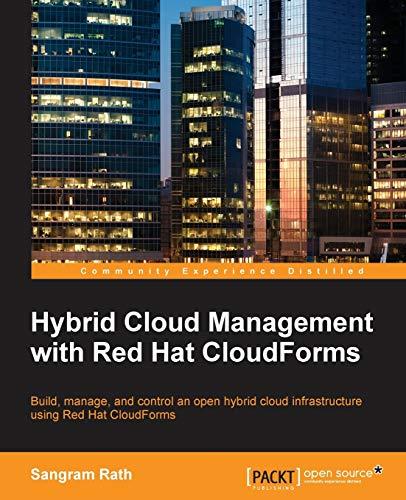 Hybrid Cloud Management with Red Hat CloudForms: Sangram Rath