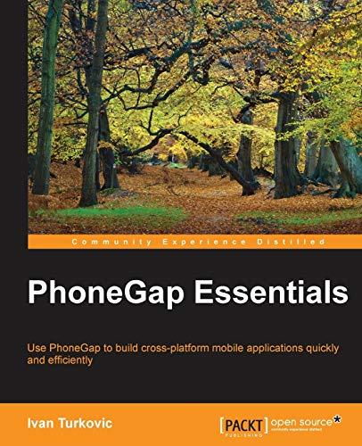 9781785284687: PhoneGap Essentials
