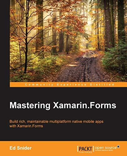 9781785287190: Mastering Xamarin.Forms
