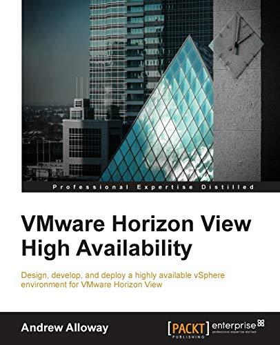 9781785287398: VMware Horizon View High Availability