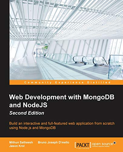 9781785287527: Web Development with MongoDB and NodeJS