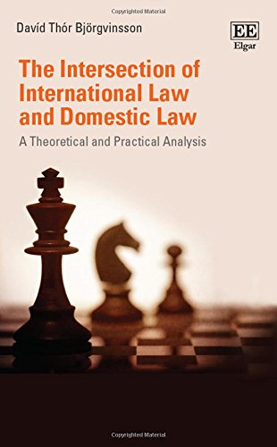9781785361869: The Intersection of International Law and Domestic Law: A Theoretical and Practical Analysis