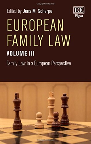 European Family Law Volume III: Family Law in a European Perspective (Hardback)