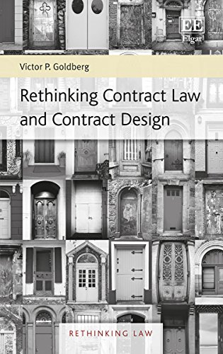 9781785368677: Rethinking Contract Law and Contract Design (Rethinking Law Series)