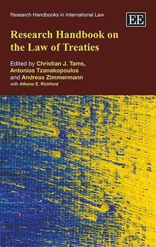 9781785369513: Research Handbook on the Law of Treaties (Research Handbooks in International Law series)