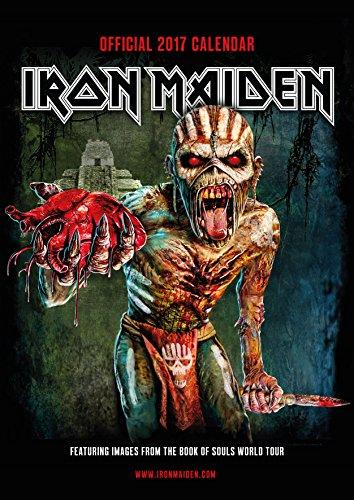 9781785490392: Iron Maiden Official 2017 A3 Calendar