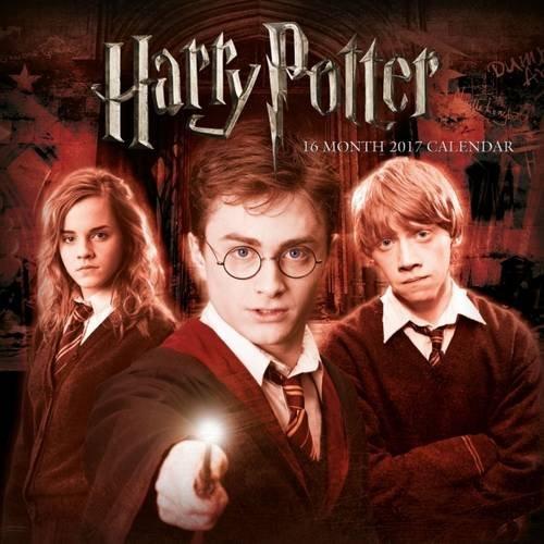 Harry Potter Official 2017 Calendar - Square 305x305mm Wall Calendar 2017