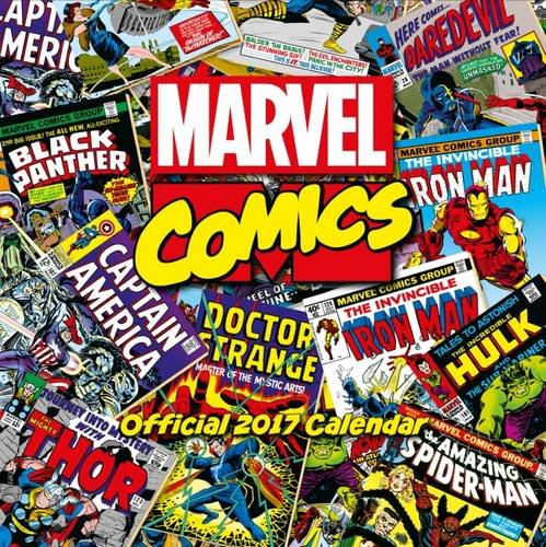 Marvel Comics Classic Official 2017 Calendar - Superhero Square 305x305mm Wall Calendar 2017