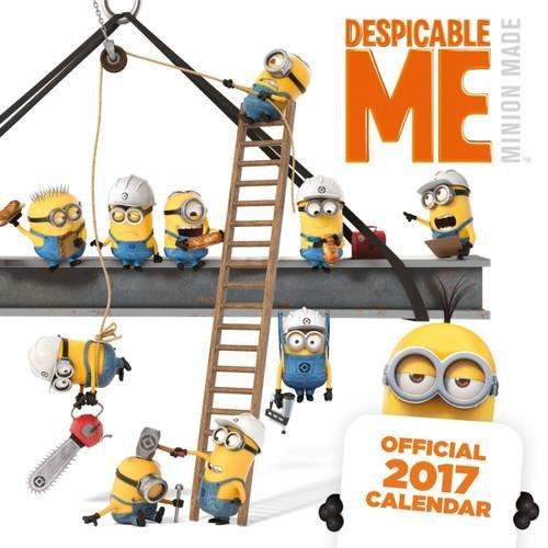 9781785490989 Despicable Me Minions Official 2017 Calendar Square