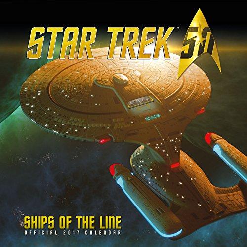 9781785491160: Star Trek Ships Official 2017 Square Calendar (Calendar 2017)