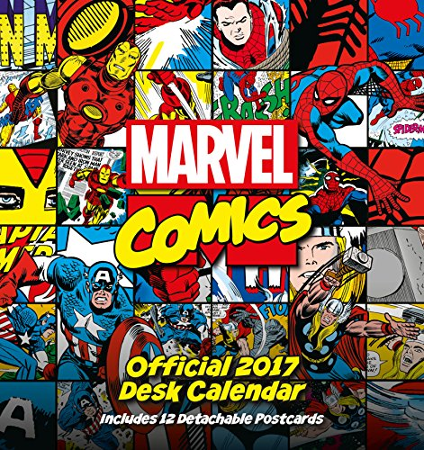 9781785492068: Marvel Comics Official 2017 Desk Easel Calendar (Calendar 2017)