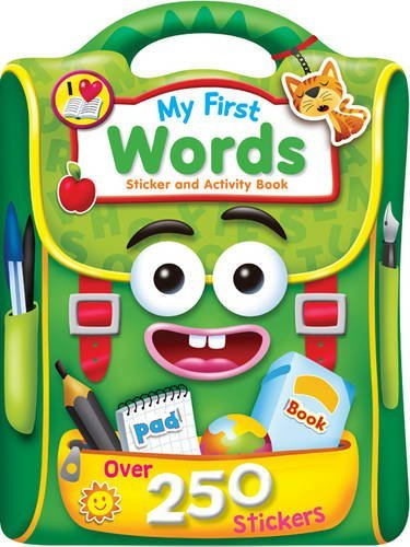 9781785572463: My First: Words (Sticker and Activity Book)