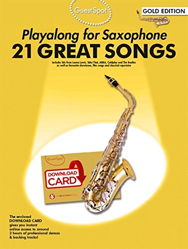 9781785580352: Guest Spot: Playalong For Alto Saxophone - Gold Edition (Book/Audio Download)