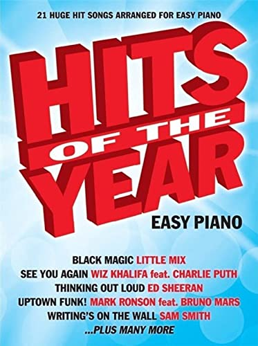 9781785581854: Hits of the Year 2015 (Easy Piano)