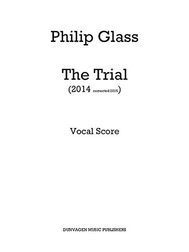 9781785581946: The Trial: Vocal Score