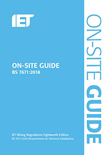 9781785614422: On-Site Guide (BS 7671:2018) (Electrical Regulations)