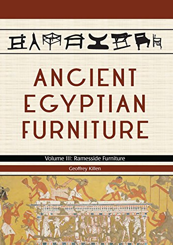 9781785704895: Ancient Egyptian Furniture: Ramesside Furniture: 3