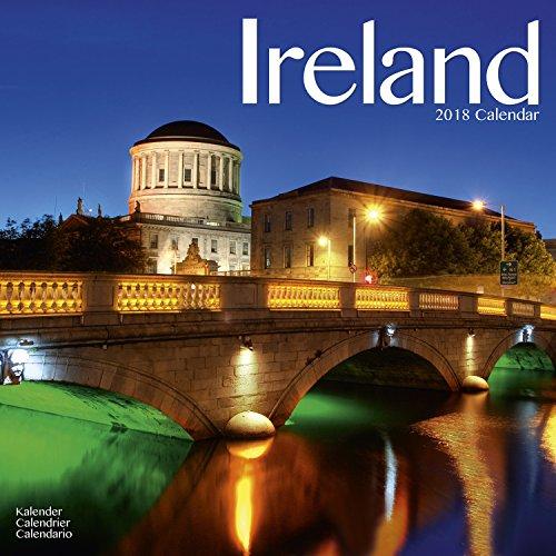 Ireland Calendar - Northern Ireland Calendar - Calendars 2017 - 2018 Wall Calendars - Photo Calendar - Ireland 16 Month Wall Calendar by Avonside