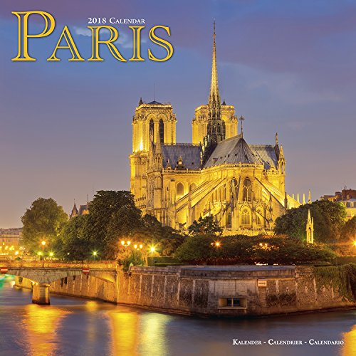 Paris France Calendar - Calendars 2017 - 2018 Wall Calendars - Photo Calendar - Paris 16 Month Wall Calendar by Avonside