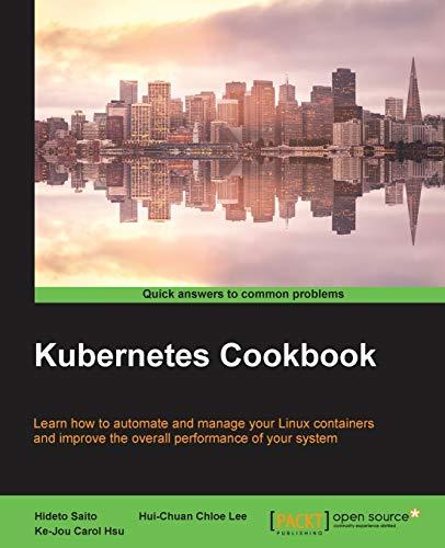 9781785880063: Kubernetes Cookbook