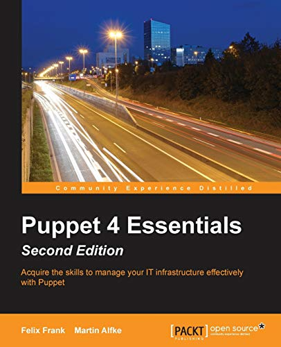 9781785881107: Puppet 4 Essentials, Second Edition